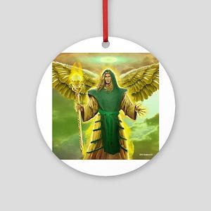 Archangel Raphael Ornament (Round)