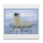 Seal Coat Tile Coaster