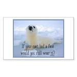 Seal Coat Sticker (Rectangle 50 pk)