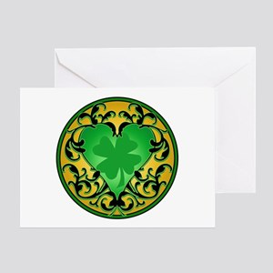 Lucky Charm Cameo Greeting Card