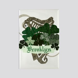 Brooklyn Rectangle Magnet