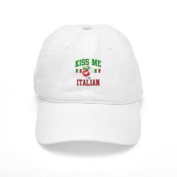 Kiss Me I'm Italian Cap