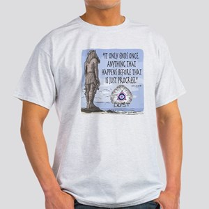 Lost Statue 2 Sided Light T-Shirt