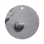Beach Pebble Ornament (Round)