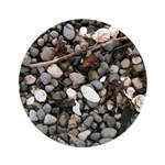 Beach Rocks Ornament (Round)