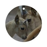 Goats Ornament (Round)