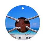 Ocean View Ornament (Round)