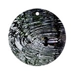 Ripples Ornament (Round)