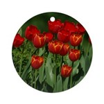 Spring Tulips Ornament (Round)