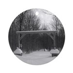 Winter Gate Ornament (Round)