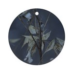 Winter Milkweed Ornament (Round)