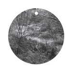 Winter Woods Ornament (Round)