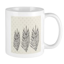 Naturals Palm Leaves Mugs