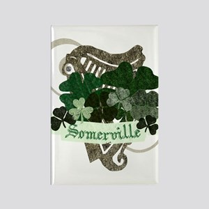 Somerville Irish Rectangle Magnet