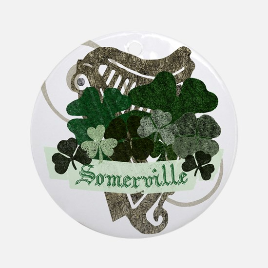Somerville Irish Ornament (Round)