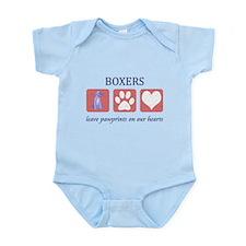 Boxer Lover Gifts Infant Bodysuit