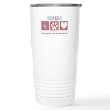 Boxer Lover Gifts Stainless Steel Travel Mug