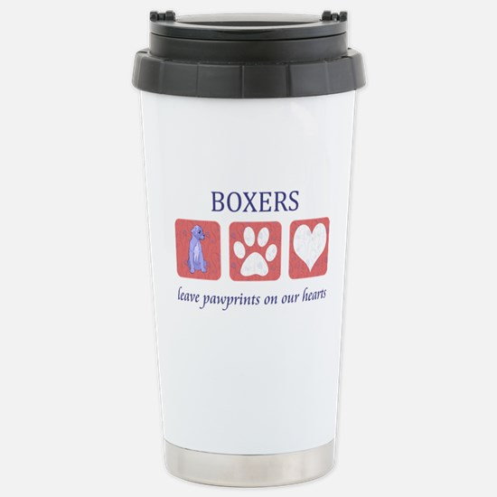 Boxer Lover Gifts Stainless Steel Travel Mug