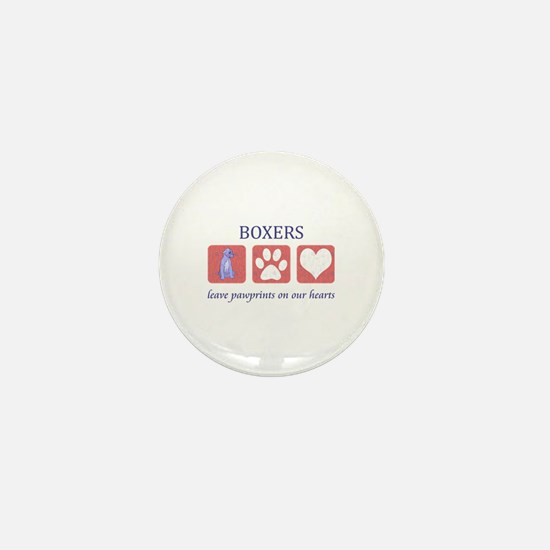 Boxer Lover Gifts Mini Button