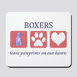Boxer Lover Gifts Mousepad