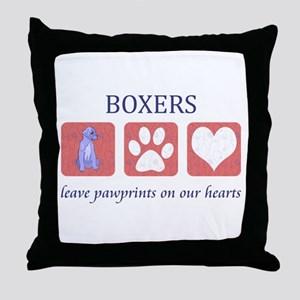 Boxer Lover Gifts Throw Pillow