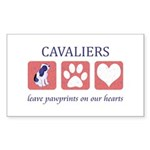 Cavalier King Charles Spaniel Sticker (Rectangle)