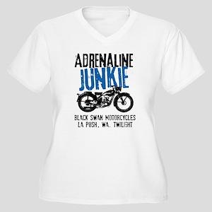 Adrenaline Junkie Women's Plus Size V-Neck T-Shirt