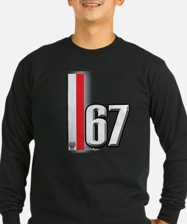 67 Red White T
