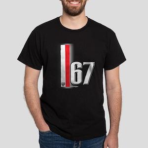 67 Red White Dark T-Shirt
