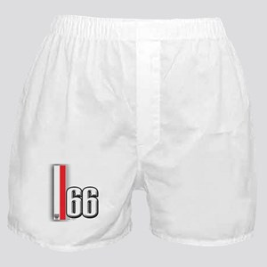 66 Red White Boxer Shorts