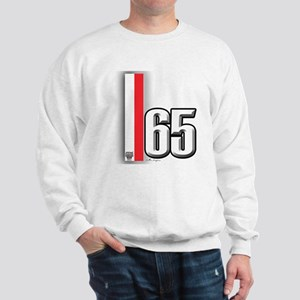 65 Red White Sweatshirt