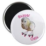 Skater Chick SK8 Magnet