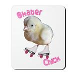 Skater Chick SK8 Mousepad