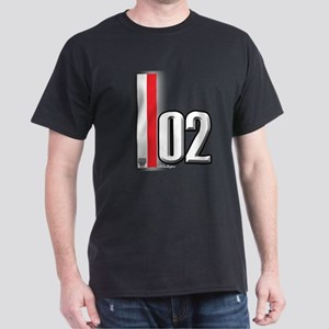 2002 Red White Dark T-Shirt