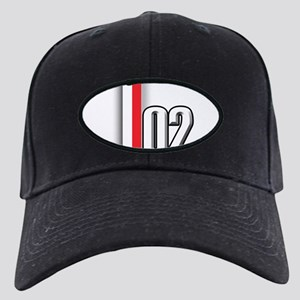 2002 Red White Black Cap