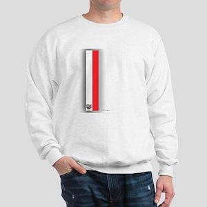 Red White Sweatshirt