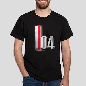 2004 Red White Dark T-Shirt