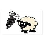 Screw Ewe Sticker (Rectangle 10 pk)
