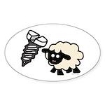 Screw Ewe Sticker (Oval 50 pk)