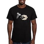 Screw Ewe Men's Fitted T-Shirt (dark)