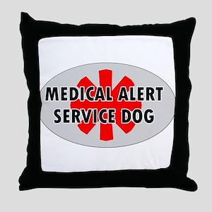 SERVICE DOG SHOP Throw Pillow