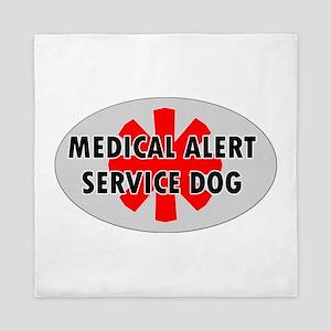 SERVICE DOG SHOP Queen Duvet