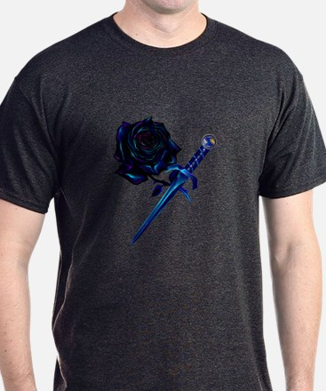 The Black Rose and Dagger T-Shirt