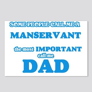 Some call me a Manservant Postcards (Package of 8)