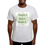 Imagine it Ash Grey T-Shirt