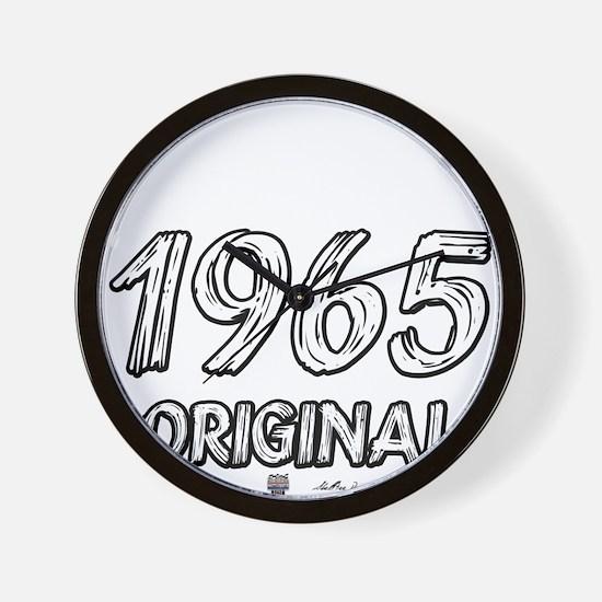 Mustang 1965 Wall Clock
