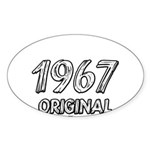 Mustang 1967 Sticker (Oval)