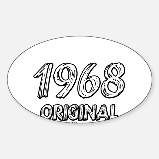 Mustang 1968 Sticker (Oval)