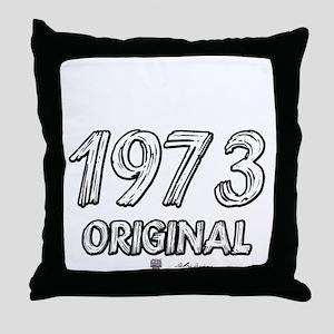 Mustang 1973 Throw Pillow