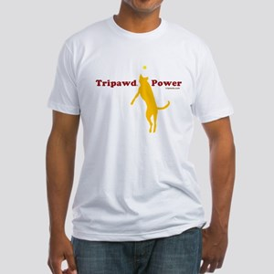 Tripawd Power Fitted T-Shirt